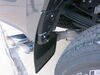 WeatherTech Mud Flaps - Easy-Install, No-Drill, Digital Fit - Rear Pair Plastic WT120065 on 2019 Ford F-350 Super Duty