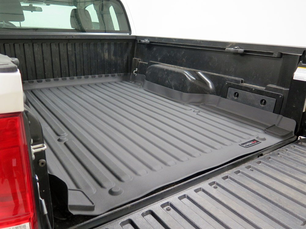 weathertech techliner custom truck bed mat black weathertech truck bed mats wt37415 weathertech techliner custom truck bed