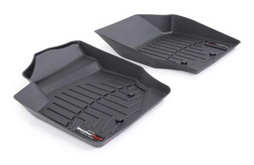 WeatherTech  440531  Custom Fit Front FloorLiner for Volvo XC90 Black