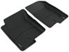 WeatherTech Front Auto Floor Mats - Black Rubber with Plastic Core WT440861