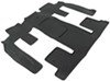 WeatherTech 2nd and 3rd Row Rear Auto Floor Mat - Black Second Row,Third Row,Rear WT441114