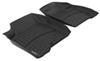 weathertech floor mats custom fit front auto - black