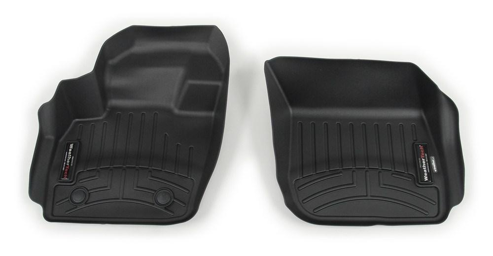 WeatherTech Front Auto Floor Mats - Black Black WT444831