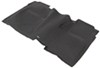 WeatherTech 2nd Row Rear Auto Floor Mat - Black Contoured WT445422