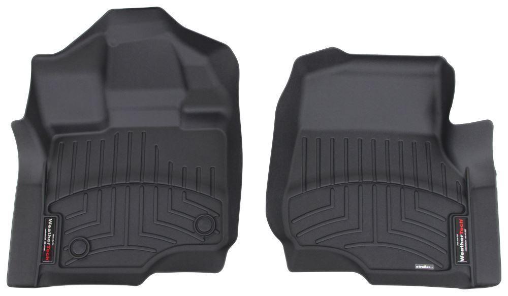 WeatherTech Front Auto Floor Mats - Black Front WT446971