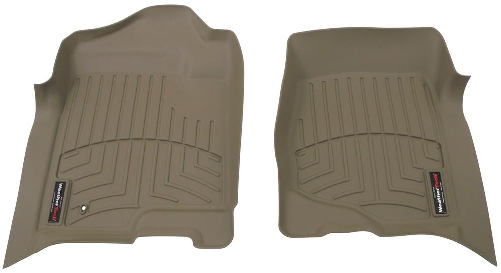 WeatherTech Front Auto Floor Mats - Tan Front WT450661