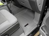 WeatherTech Front Auto Floor Mats - Gray Rubber with Plastic Core WT460051 on 2006 Ford F-150