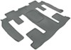 WeatherTech 2nd and 3rd Row Rear Auto Floor Mat - Gray Contoured WT461114