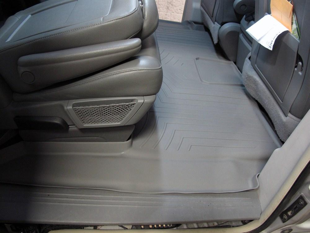 WeatherTech Custom Fit Rear FloorLiner for Chrysler Town /& Country Grey 461414