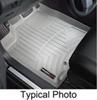 weathertech floor mats front contoured auto - gray