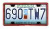 WeatherTech Plain License Plates and Frames - WT60022