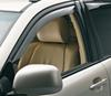 weathertech rain guards 4 piece set front and rear windows side window with dark tinting -