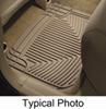 weathertech floor mats rear flat all-weather - tan