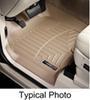 weathertech floor mats front contoured auto - tan