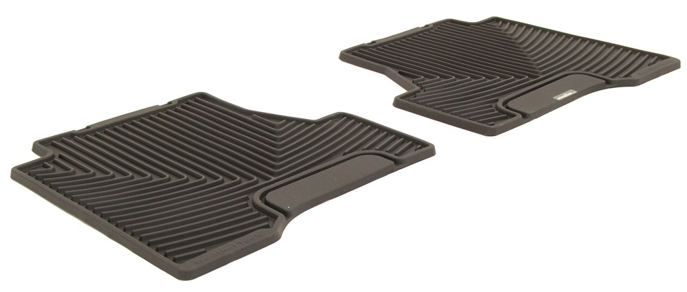 Rubber Rear W223 Floor Mat WeatherTech Black