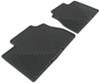 weathertech floor mats semi-custom fit rear all-weather - black