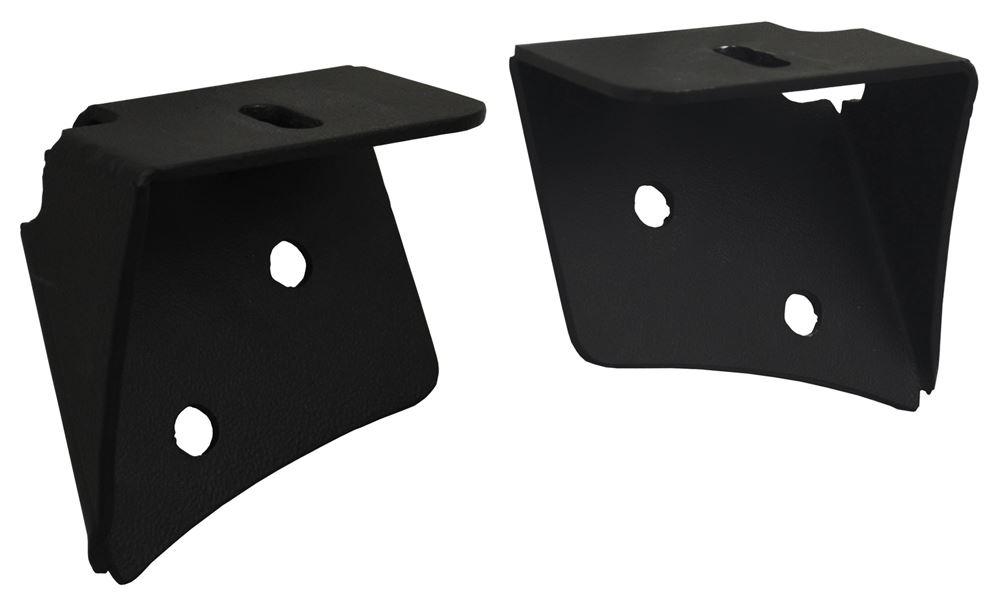 Custom Pillar Mounts for Vision X Off-Road Lights - Jeep JK Black XIL-OEA0713JK