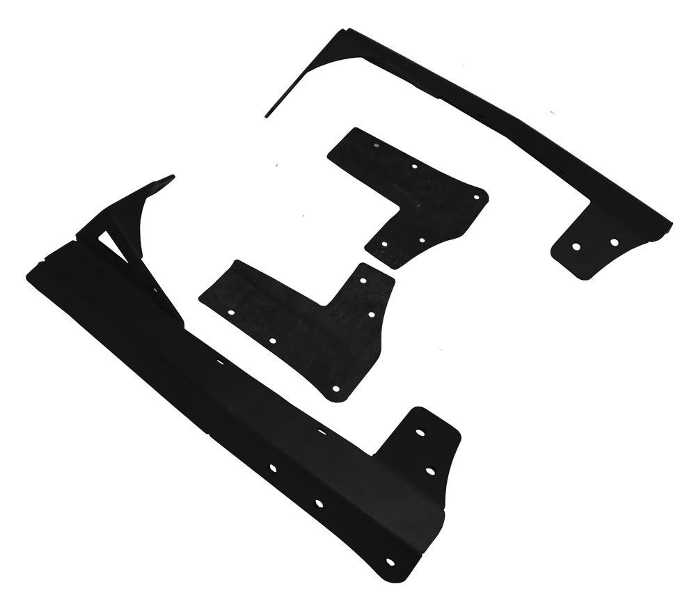 "Custom Windshield Mount for 49"" to 52"" Long Vision X Light Bars - Jeep JK Black XIL-OEW0713JKV2"