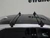 2015 ford edge roof rack yakima round bars on a vehicle