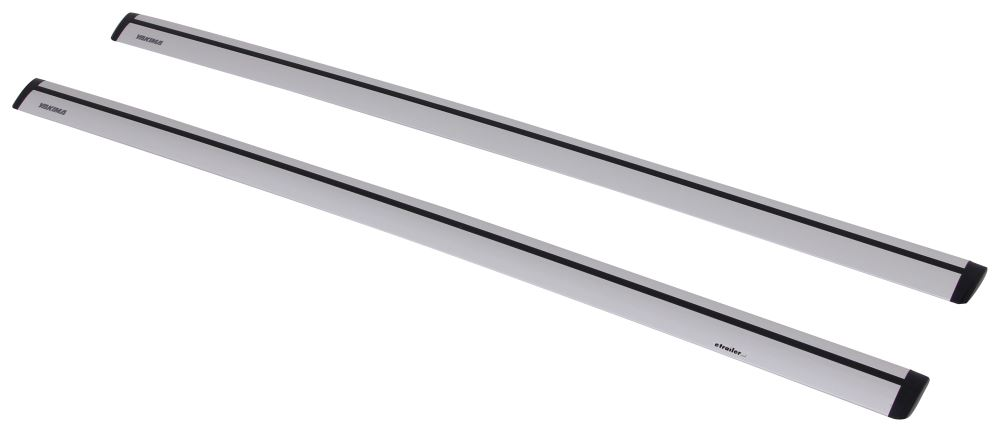 "Yakima JetStream Crossbars - Aluminum - Silver - 70"" Long - Qty 2 Non-Locking Y00430"
