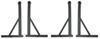 yakima ladder racks fixed rack height y01136-y00410