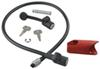 yakima trailer hitch lock fits 1-1/4 inch 2 and for racks deadlock integrated locking cable - same key system (sks)