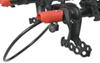 yakima trailer hitch lock rack specific locks fits 1-1/4 inch 2 and deadlock integrated locking cable - same key system (sks)