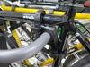 0  hitch bike racks yakima hanging rack tilt-away fold-up on a vehicle