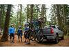 "Yakima HangOver 4 Bike Rack for Mountain Bikes - 2"" Hitches - Tilting Tilt-Away Rack Y02484"