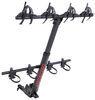 yakima hitch bike racks hanging rack tilt-away hangover 4 for mountain bikes - 2 inch hitches tilting