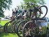 Y02485 - Tilt-Away Rack Yakima Hitch Bike Racks