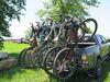 "Yakima HangOver 6 Bike Rack for Mountain Bikes - 2"" Hitches - Tilting Hitch Lock Y02485"