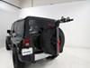 Yakima 2 Bikes Spare Tire Bike Racks - Y02599 on 2015 Jeep Wrangler Unlimited