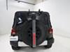 Yakima SpareRide 2 Bike Rack - Spare Tire Mount - Folding Arms Dual Arm Y02599 on 2015 Jeep Wrangler Unlimited