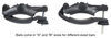 yakima accessories and parts roof rack adapters universal mightymounts for mounted