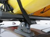 Yakima BigStack Roof Mounted 2 Kayak Carrier System Roof Mount Carrier Y04041 on 2013 Acura RDX
