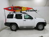 Yakima JayLow Kayak Carrier w/ Tie-Downs - J-Style or Post Style - Folding - 1 or 2 Kayaks No Load Assist Y04073