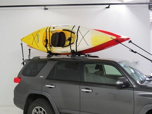 Yakima KayakStacker Rooftop Kayak Rack with Tie-Downs