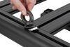 "Yakima LockNLoad Platform Roof Tray - Aluminum - 84"" Long x 49"" Wide Aluminum Y05047"
