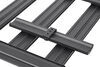 yakima roof rack requires fit kit locknload platform tray - aluminum 84 inch long x 54 wide
