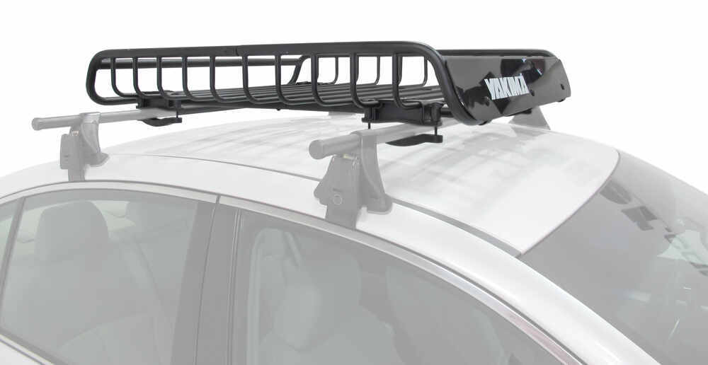 "Yakima LoadWarrior Roof Rack Cargo Basket - Steel - 44"" Long x 39"" Wide Round Bars,Square Bars,Factory Bars Y07070"