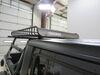 """Yakima MegaWarrior Extra Large Roof Rack Cargo Basket - Steel - 74"""" Long x 48"""" Wide Extra Large Capacity Y07080-82 on 2020 Jeep Gladiator"""