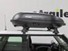 Yakima Black Roof Box - Y07191 on 2004 Mini Cooper