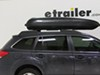 Yakima RocketBox Pro 11 Rooftop Cargo Box - 11 cu ft - Black Medium Profile Y07193 on 2011 Subaru Outback Wagon