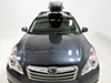 Roof Box Y07193 - Black - Yakima on 2011 Subaru Outback Wagon
