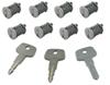 yakima accessories and parts  same key system (sks) lock cores (qty 8)
