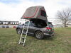 Yakima SkyRise HD Tent for Roof Rack Crossbars - 3 Person - 600 lbs - Tan and Red Tan Y07437