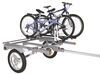 yakima trailers roof rack on wheels and roll trailer - 66 inch