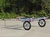 Y08107 - Aluminum Yakima Roof Rack on Wheels
