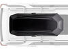 0  roof box yakima medium profile cbx rooftop cargo - 16 cubic ft black